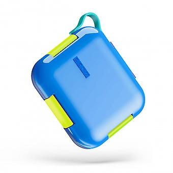 lunchbox 23.4 x 6.3 x 12.2 cm polypropylene blue