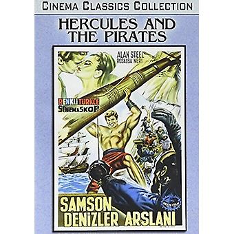 Hercules & the Pirates [DVD] USA import