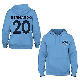 Bernardo silva 20 club style player kids hoodie