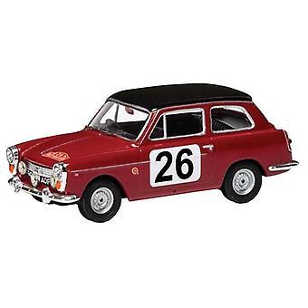 Austin A40 Pat Moss - Ann Wisdom (Monte Carlo Rally 1960) Diecast Model