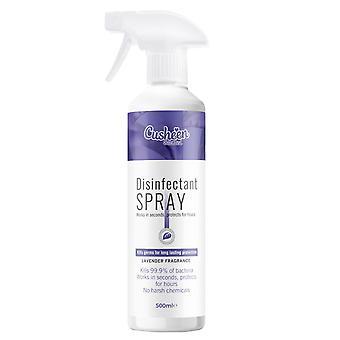 Cusheen Lavender Scented Disinfectant Spray , 500ml