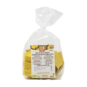 Turmeric and Pepper Spelt Mini Crackers Bio 250 g
