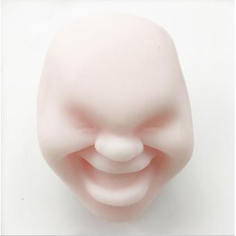 كبير الوردي العملاقة squishy الوجه الإنسان مضحك ضغط الكرة الحد من لعبة المضادة للإجهاد az8615