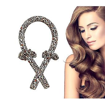 Brown heatless hair curlers you can sleep insoft no heat curlers headband x6661