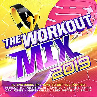 The Workout Mix CD