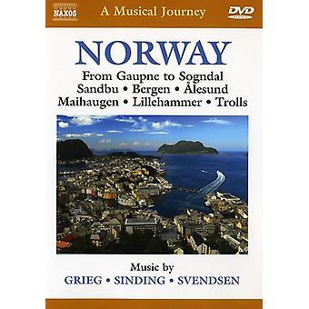 Muzikale reis: Noorwegen [DVD] USA import