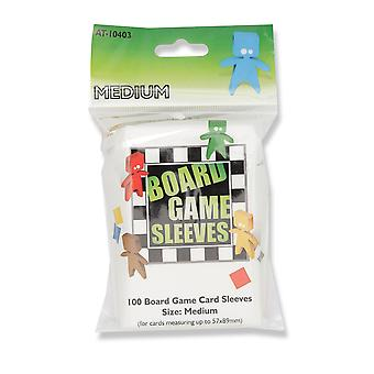 Board Game Sleeves - Medium (fits cards of 57x89mm)