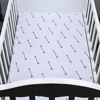 new d bed fitted sheet crib triangle design bedding protector sm17947