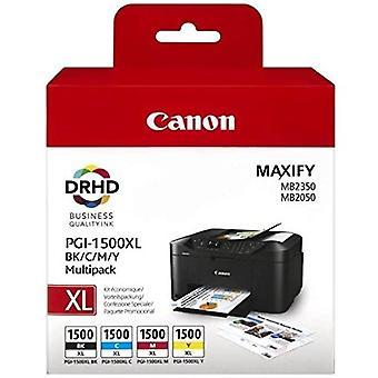 Canon PGI-2500XL Cyan /Magenta / Jaune / Noir Cartouches jet d'encre à haut rendement (Pack de 4) 9254B004