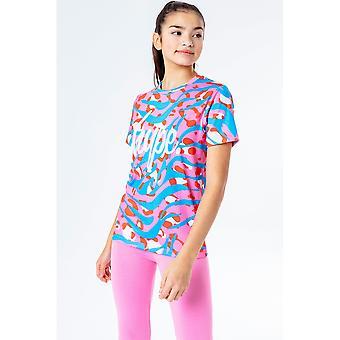 Hype Girls Zebra tričko a legíny set
