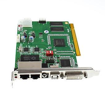 LED-kontrollsystem, sende kortbruk med prosessorkontrollboks