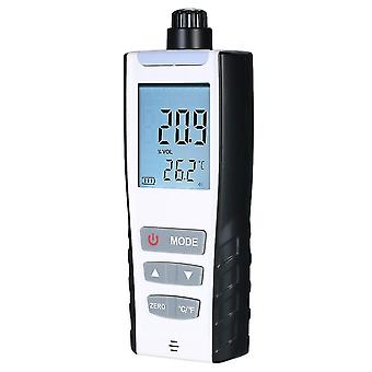 Oxygen meter portable oxygen(o2) concentration detector with lcd display and sound-light vibration