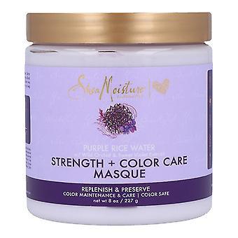 Hair Mask Purple Rice Water Shea Moisture (227 g)