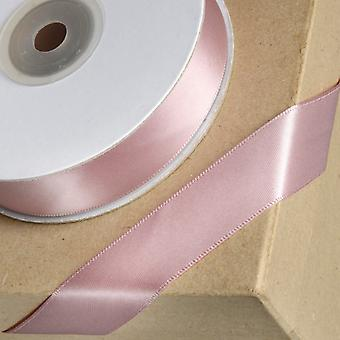 25m Taupe 23mm Wide Satin Ribbon for Crafts