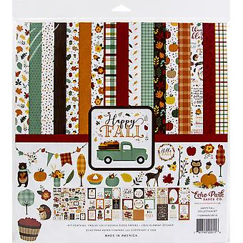 """Echo Park Collection Kit 12""""X12"""" - Happy Fall"""
