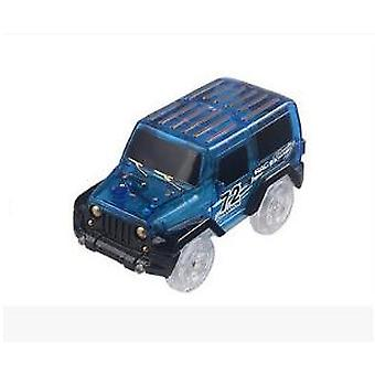 Led Light Up -autot hehkuun kilparadan elektroniseen auto leluun