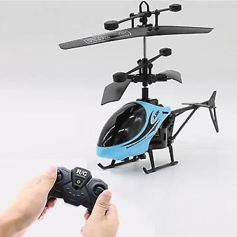 Remote Eletric Flying Helicopter Flashing Lights Hand Controlled Aircraft Outdoor Toys For Children