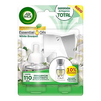 Electric Air Freshener  Refill Essential Oils Air Wick White Bouquet (19 ml)