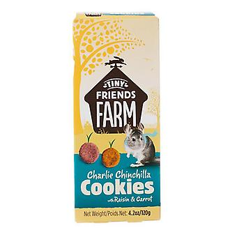 Tiny Friends Farm Charlie Chinchilla Cookies with Raisin & Carrot - 4.2 oz