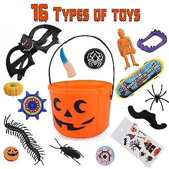 Halloween Party Favors Pumpkin Buckets Novelty Toys For Kids Halloween Decorations Toys