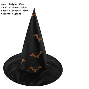 Yesfit Halloween Witch Hat Wizard Hat For Halloween Christmas Party