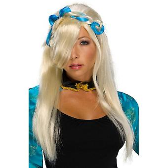 Asian New Rave Cyber Cosplay Ninja Japanese Warior Women Costume Wig