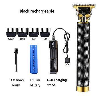 Fryzjer w kształcie litery T łysy strzyżyk do włosów trymer męski akumulator kosiarka do trawy w kształcie litery T kontur włosów