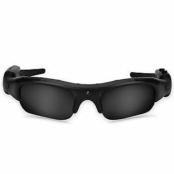 mini lyd dvr kamera solbriller briller med 1080p hd lett ridning briller