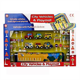 City Voitures et Playmat