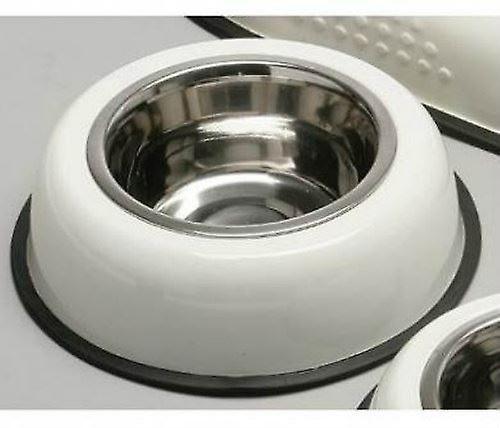 Cream Pet Bowl