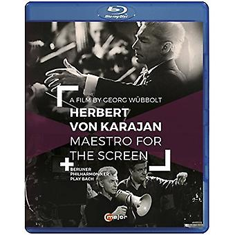 Herbert Von Karajan - Maestro for the Screen [Blu-ray] USA import