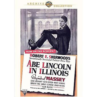 Abe Lincoln in Illinois [DVD] USA import