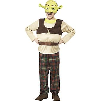 Shrek kostume børn OGRE oprindelige Shrekkostüm