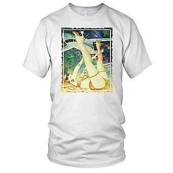 Showgirl - DJ surf Surfing Ibiza Mens T-skjorte