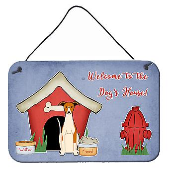 Dog House Collection Whippet Wall or Door Hanging Prints