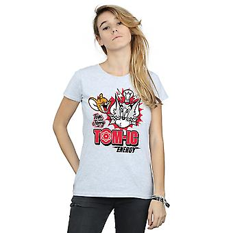 Tom och Jerry kvinnors Tomic energi T-Shirt