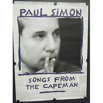 Paul Simon Songs from the Capeman Poster Version 2