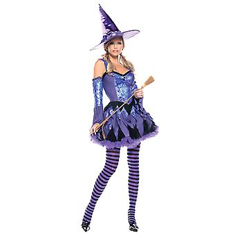 Gypsy Witch Sorceress Enchantress Story Book Week Women Costume