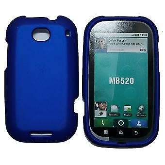 5 Pack -Offwire Soft Touch Snap-On Case for Motorola MB520 Bravo - Blue