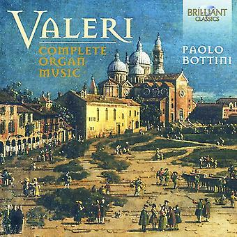 Valeri / Bottini - Valeri / Bottini: importation des USA de la musique d'orgue complet [CD]