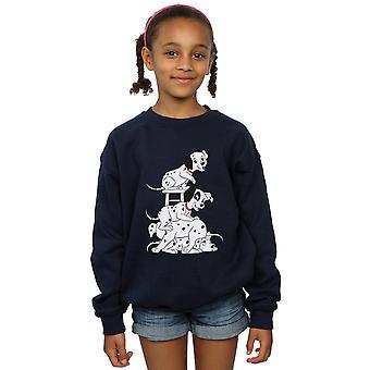 Disney Girls 101 Dalmatians Chair Sweatshirt