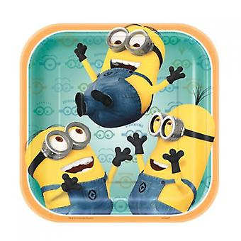 Despicable Me Party Platten