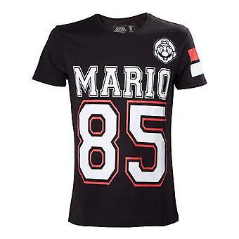 Mens Mario 85 Streetwear American Football Jersey-t-Shirt M schwarz TS205052NTN M
