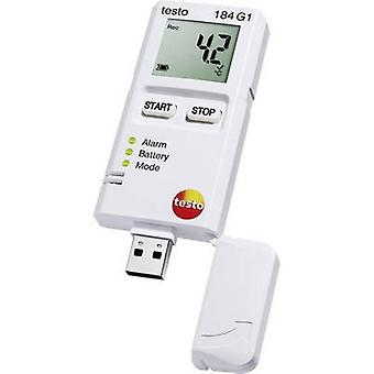 testo 184 G1 Multi-channel data logger Unit of measurement Temperature, Humidity, Vibration/acceleration -20 up to +70 °C 0 up to 100 RH 0 up to 10 G