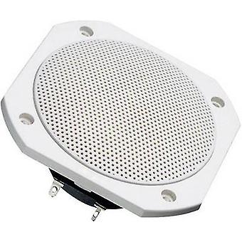 Visaton FRS 10 WP Flush mount speaker 50 W 4 Ω White 1 pc(s)