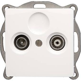 Kopp Insert TV, Radio socket Paris White 921302089
