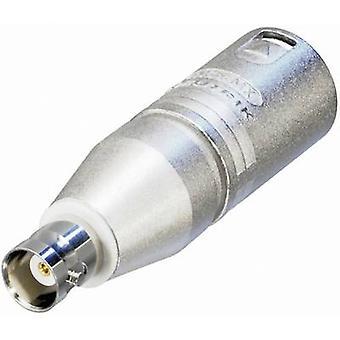 Neutrik NA2MBNC XLR-adapter XLR-stik - BNC-stik 1 stk.