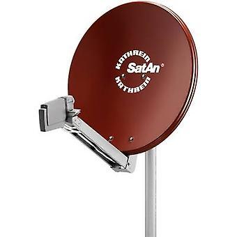 Kathrein CAS 80 SAT antenna 75 cm Reflective material: Aluminium Red, Brown