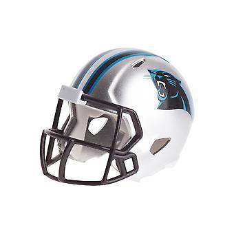 Riddell speed pocket fotboll hjälmar - NFL Carolina Panthers
