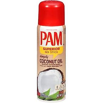 Pam Simply Coconut Oil No Stick Cooking Spray 2 Bottle Pack